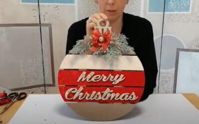 Decorazione natalizia: Fuori Porta Palla
